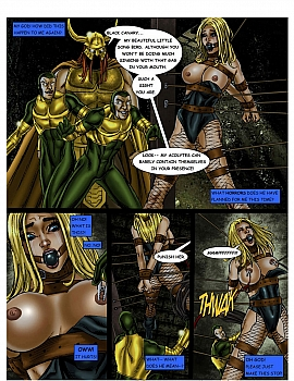 8 muses comic JLA - The Return Of The Warlord image 14