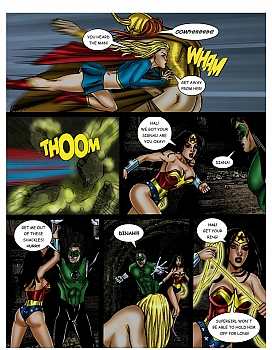 8 muses comic JLA - The Return Of The Warlord image 23