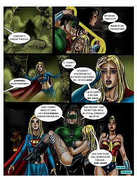 8 muses comic JLA - The Return Of The Warlord image 24