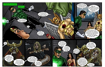 8 muses comic JLA - The Return Of The Warlord image 7