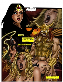 8 muses comic JLA - The Return Of The Warlord image 8