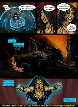 8 muses comic Jalila - Aton Stikes Back 1 image 10