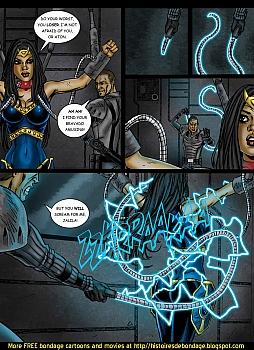8 muses comic Jalila - Aton Stikes Back 1 image 16