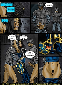 8 muses comic Jalila - Aton Stikes Back 1 image 18