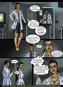 8 muses comic Jalila - Aton Stikes Back 1 image 3