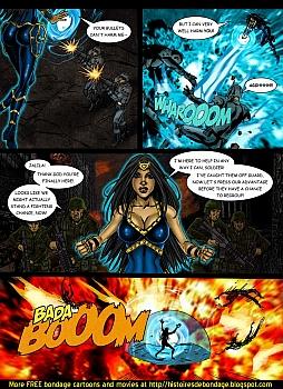 8 muses comic Jalila - Aton Stikes Back 1 image 9