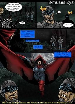 8 muses comic Jalila - Aton Stikes Back 2 image 11