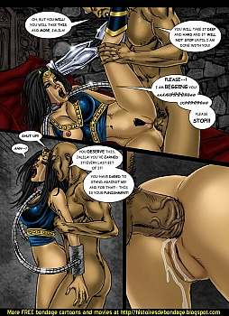 8 muses comic Jalila - Aton Stikes Back 2 image 18