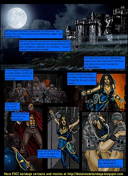 8 muses comic Jalila - Aton Stikes Back 2 image 2