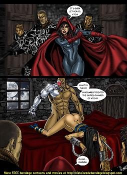 8 muses comic Jalila - Aton Stikes Back 2 image 20
