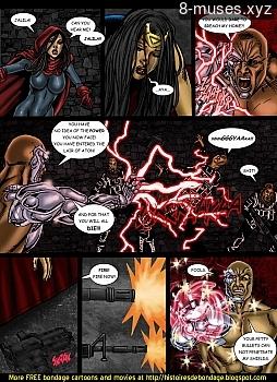 8 muses comic Jalila - Aton Stikes Back 2 image 21