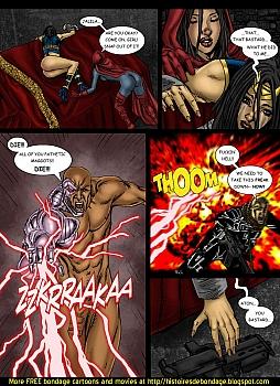 8 muses comic Jalila - Aton Stikes Back 2 image 22