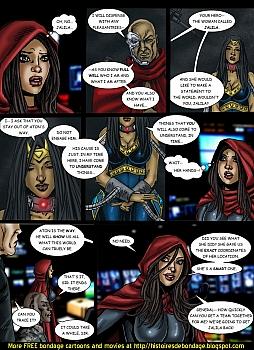 8 muses comic Jalila - Aton Stikes Back 2 image 8