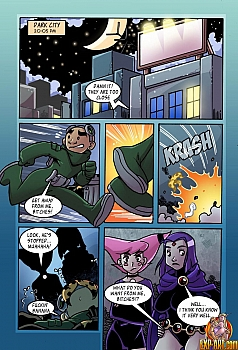 8 muses comic Jinx & Raven image 2