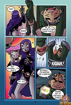 8 muses comic Jinx & Raven image 3