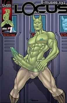Locus 1 XXX comic