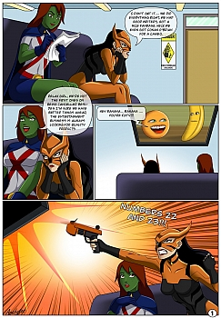 8 muses comic Low Class Heroines image 2