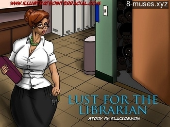 Lust For The Librarian Erotic Comic