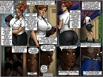 8 muses comic Lust For The Librarian image 4