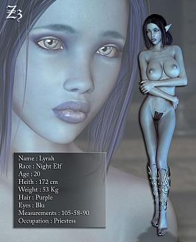 8 muses comic Lyrah image 2