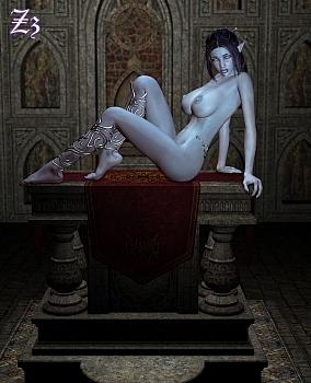 8 muses comic Lyrah image 3