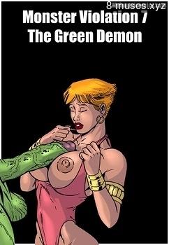 Monster Violation 7 – The Green Demon Anime Porn Comics