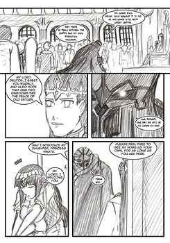 8 muses comic Naruto-Quest 1 - The Hero And The Princess! image 14