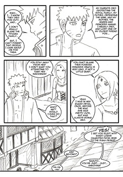 8 muses comic Naruto-Quest 1 - The Hero And The Princess! image 9
