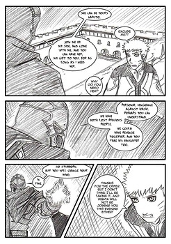8 muses comic Naruto-Quest 2 - The Princess Knight! image 10