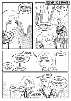 8 muses comic Naruto-Quest 2 - The Princess Knight! image 11