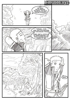 8 muses comic Naruto-Quest 3 - The Beginning Of A Journey image 11