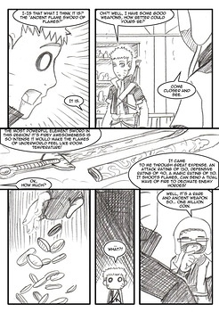 8 muses comic Naruto-Quest 3 - The Beginning Of A Journey image 5