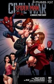 Spiderman – Civil war