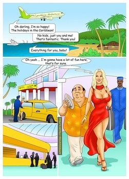 8 muses comic The Caribbean Holidays image 2
