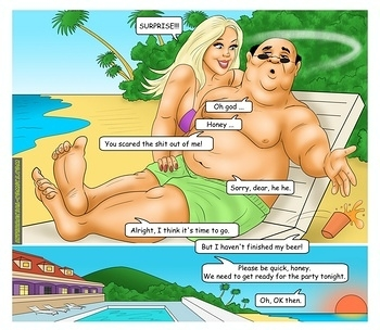 8 muses comic The Caribbean Holidays image 22