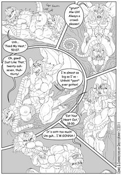8 muses comic The Valentine's Understudy image 5