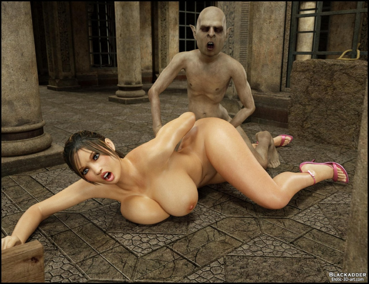 Pornomonster3d naked image