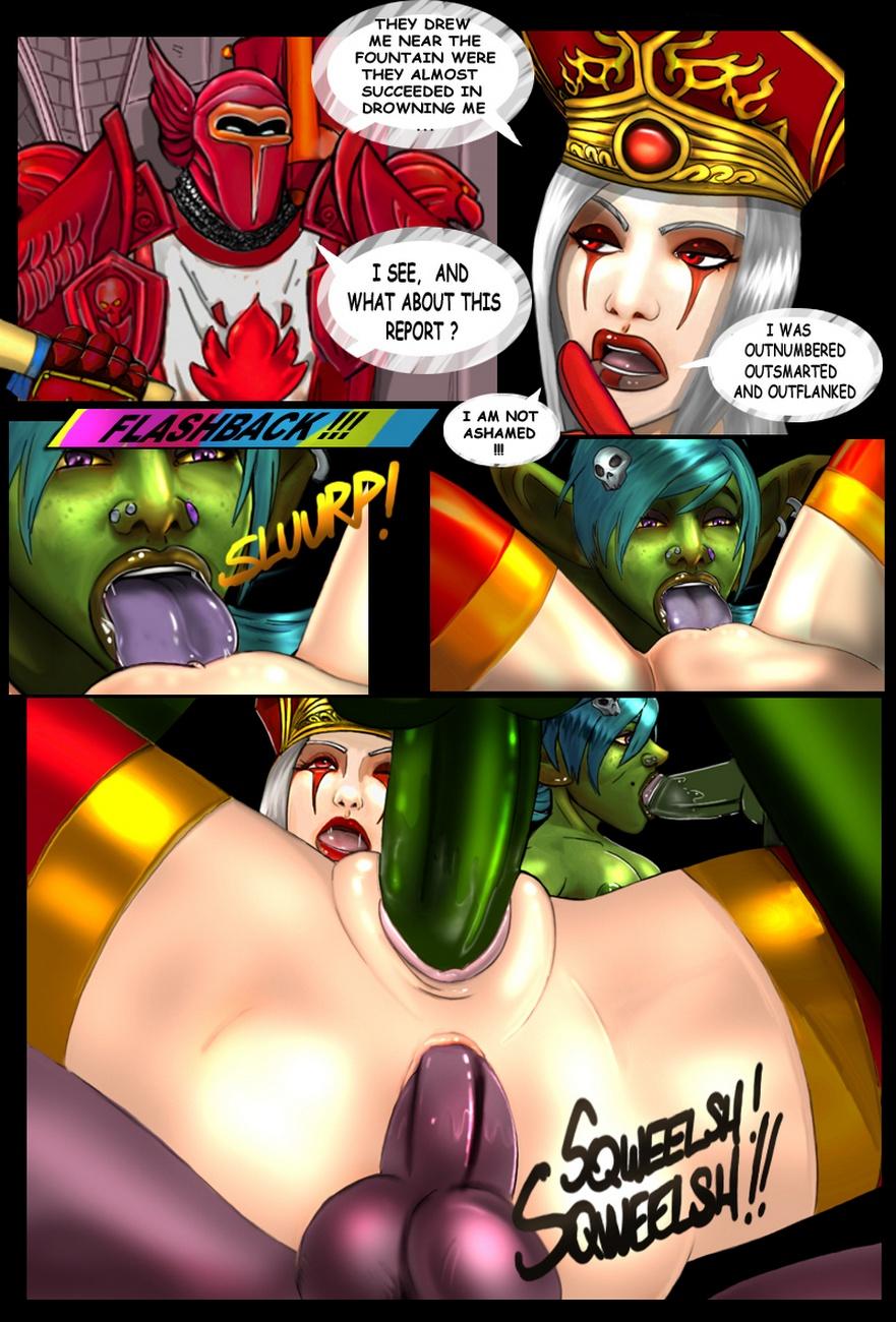 Порно комикс порнкрафт