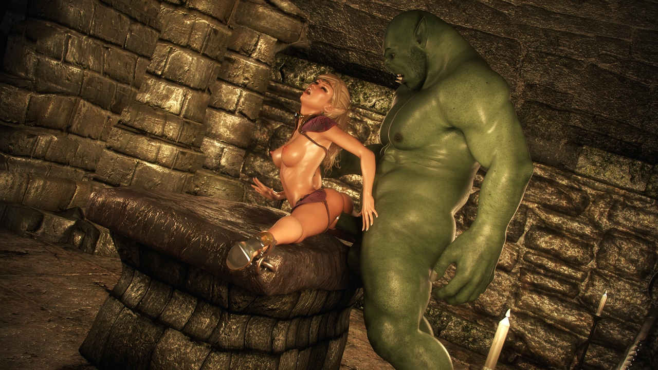 3d monster porn in dungeon nsfw images