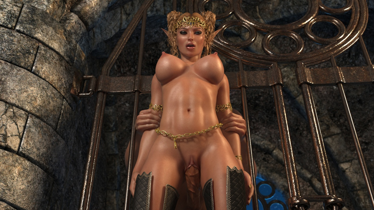 Medieval fantasy world elves hentai porn pictures