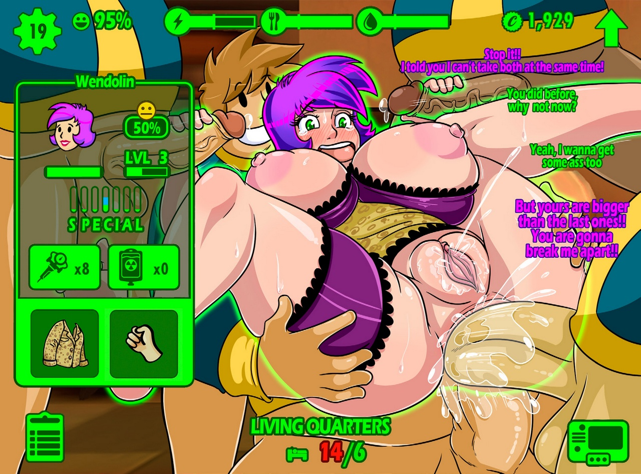 Fallout sex uncensored nude photo