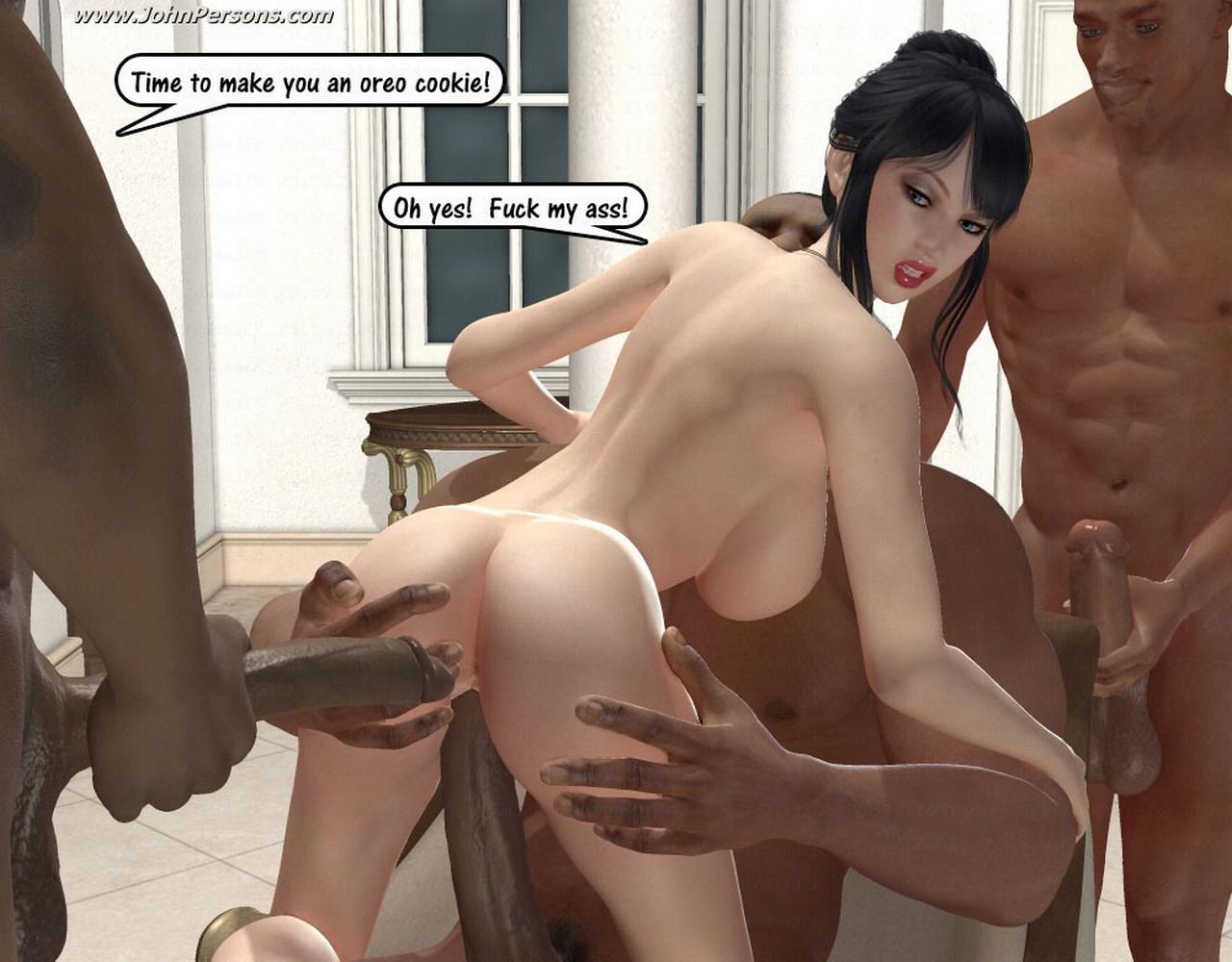Порно 3d  фантазии