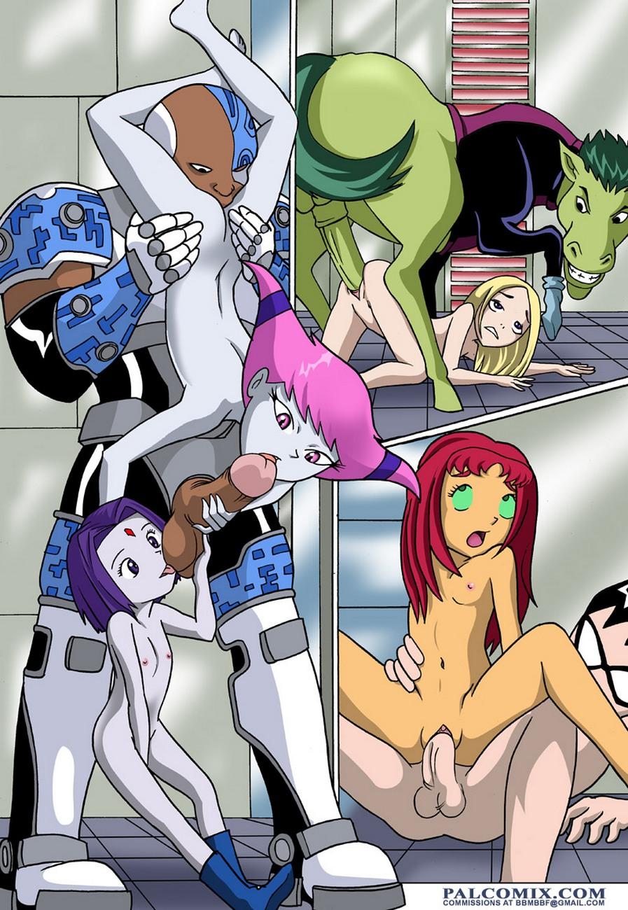 Hentai Teen Titans